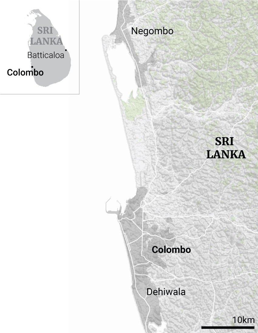 Sri Lanka suicide bomber studied in UK and Australia