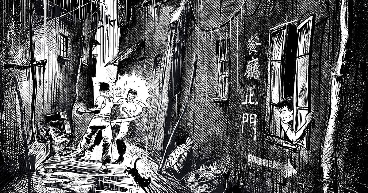 How Bruce Lee and street fighting in Hong Kong helped create MMA