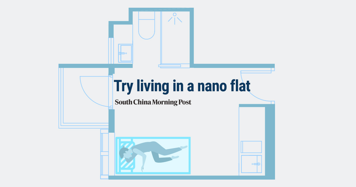 Try living in a micro flat